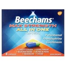Beechams Max All in One Capsules 16s Health Care