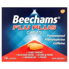 Beechams Flu Plus Caplets 16s Health Care