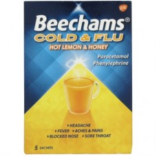Beechams Lemon & Honey 5 Sachet 5s Health Care