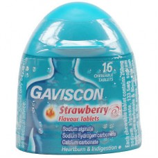 Gaviscon Strawberry Handy Pack 16s Health Care
