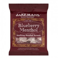 Jakemans Blueberry Menthol Bag 100g Health Care