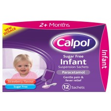 Calpol Infant Sachets 12s Health Care