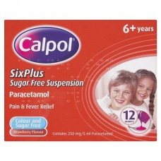 Calpol 6 Plus Sachets 12s Health Care