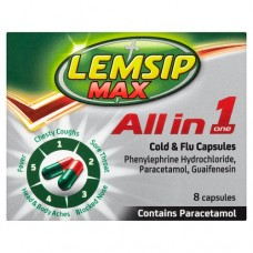 Lemsip Max All in One Capsules 8s Health Care