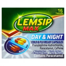Lemsip Day & Night Capsules 16s Health Care