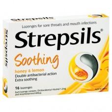 Strepsils Honey & Lemon 16s Health Care