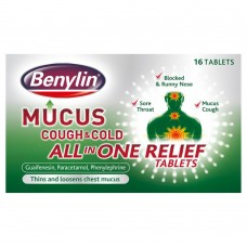 Benylin Mucus & Cough Tablets 16s Health Care
