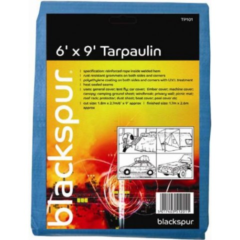 Tarpaulin 6' x 9' Camping & Leisure