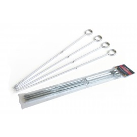 Bar-Be-Quick Metal Skewers 4 pack