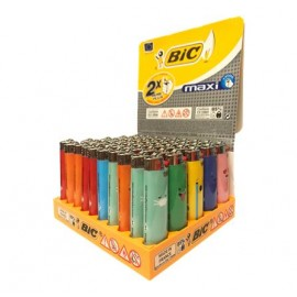 Bic Maxi J26 Flint Decor Refillable Lighter Smokers