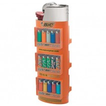 Bic 3 Tier Lighters Empty Display Stand