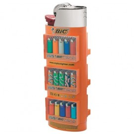 Bic 3 Tier Lighters Empty Display Stand Smokers