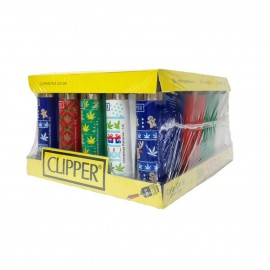 Clipper Christmas Lighter Leaf Design Smokers