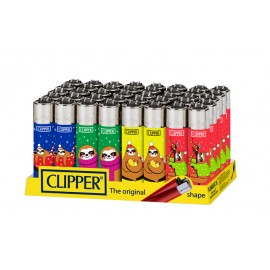 Clipper Festive Sloth Lighters Smokers