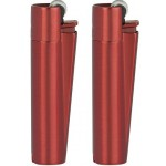 Clipper Metal Red Devil Lighters Smokers
