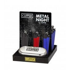 Clipper Metal Night Lighters Smokers