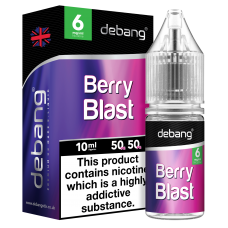 Debang Berry Blast E-Liquid 10ml LIQUIDS