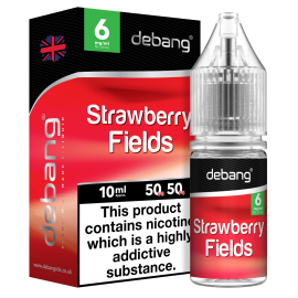 Debang Strawberry Fields E-Liquid 10ml Liquids