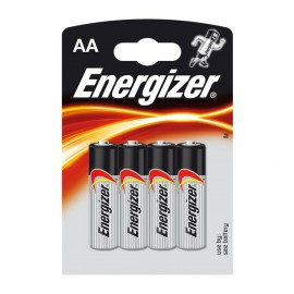 Energizer AA Alkaline Power Battery 4 pack Hardware