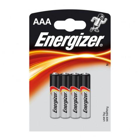 Energizer AAA Alkaline Power Battery 4 pack Hardware