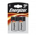 Energizer C Alkaline Power Battery 2 pack Hardware