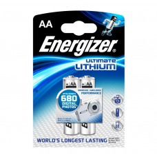 Energizer AA Ultimate Lithium Battery 2 pack Hardware