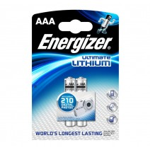 Energizer AAA Ultimate Lithium Battery 2 pack