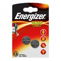 Energizer 2025 Lithium 3v Battery 2 pack