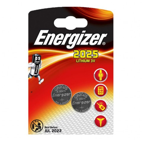 Energizer 2025 Lithium 3v Battery 2 pack Hardware