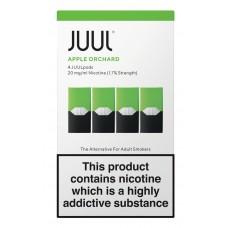 JUUL Apple Orchard 4 Pods  Liquids