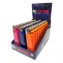 KTWO Flint Solid Colour Disposable Lighter