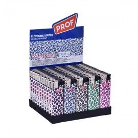 Prof Leopard Print Piezo Lighters Smokers