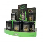 Green Flame Leaf Lighter Smokers