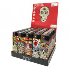 Prof Skull Electronic Refillable Lighter Smokers