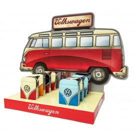 Volkswagen Samba Bus Metal Electronic Refillable Lighter Smokers