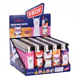 Prof Llama Piezo Turbo Lighters Smokers