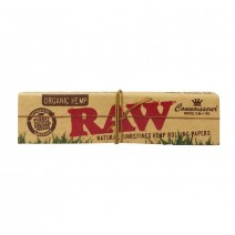 Raw Original Hemp Connoisseur King Size Slim Papers + Tips