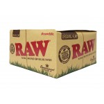 Raw Original Hemp Connoisseur King Size Slim Papers + Tips Smokers