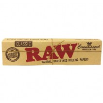 Raw Classic Connoisseur King Size Slim Papers + Tips