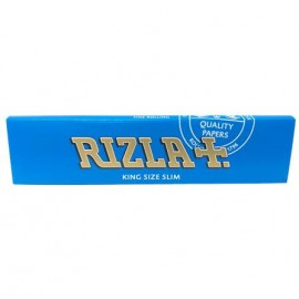 Rizla Blue King Size Slim Rolling Papers Smokers