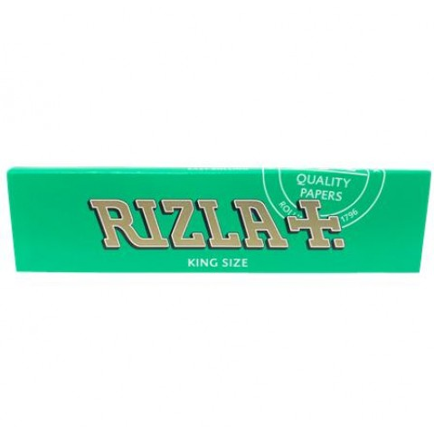 Rizla Green King Size Rolling Papers Smokers