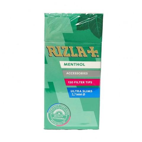 Rizla Menthol Ultra Slim Filter Tips Smokers