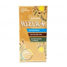 Rizla Natura Ultra Slim Filter Tips Smokers