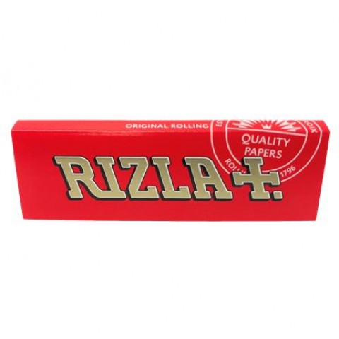 Rizla Red Regular Rolling Papers Smokers
