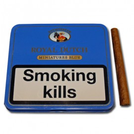 Royal Dutch Blue Mini Cigars Smokers