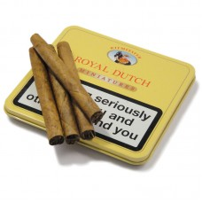 Royal Dutch Yellow Cigars Smokers