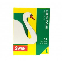 Swan Green Combi Extra Slim Papers & Filter Tips