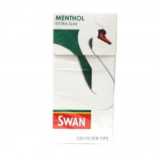 Swan Menthol Extra Slim Filter Tips Smokers