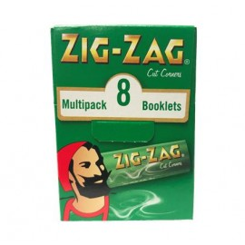 Zig-Zag Green Multipack Rolling Papers Smokers