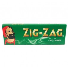 Zig-Zag Green Regular Rolling Papers Smokers